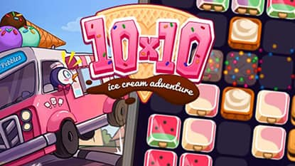 10x10 Ice Cream Adventure Online Game Play For Free Keygames