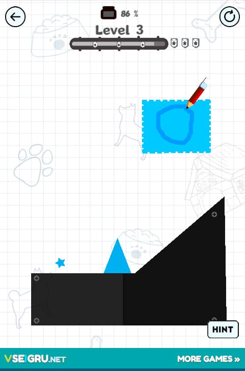 Draw Here 2 - Online Game - Play for Free | Keygames