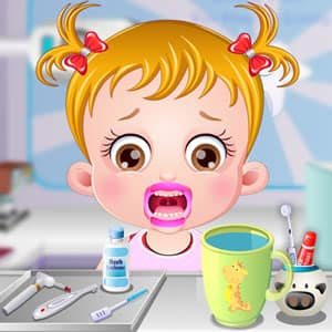 baby hazel dental care free games