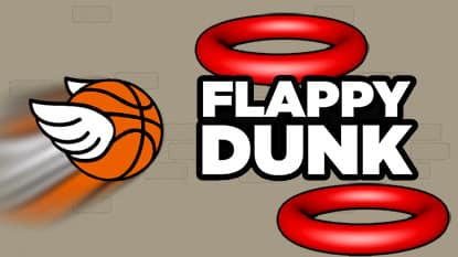 Flappy Dunk - Online Game - Play for Free | Keygames