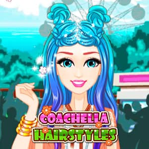 Coachella Hairstyles - Online Game - Play for Free   Keygames